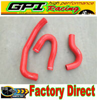 RED Silicone radiator hose for Navara D22-Ⅱ 3.0 TDi ZD30 Turbo Diesel 2001-2006