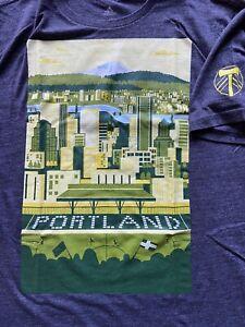 Portland Timbers Adidas Tee Providence Park Soccer MLS Valeri