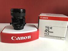Canon TS-E 45mm f/2.8 Objektive