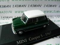 RBA36G voiture 1/43 RBA Italie IXO : MINI COOPER s 1967