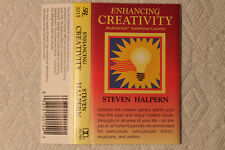 Steven Halpern - Enhancing Creativity US Rx Sounds cassette 1991 ambient