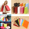 50Pcs Bright Paper Party Bags Gift Bag With Handles Recyclable Birthday Loot Bag
