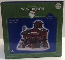 Santa's Workbench Barnacle Bill's Boat House Christmas Village Towne 2002