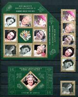 Ascension 2012 Thronjubiläum QE II Königin Elisabeth Royalty Postfrisch MNH