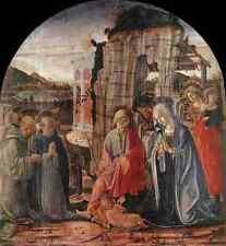 Metal Sign Francesco Di Giorgio Martini Nativity 1475 A4 12x8 Aluminium