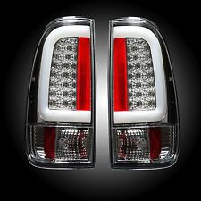 RECON 264293CL Ford Superduty 08-16 F250HD 350 450 550 Clear Tail Lights LED
