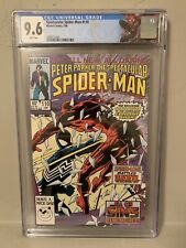 Spectacular Spider-Man #110 CGC 9.6 NM+ Daredevil 1st Modern Age Custom Label