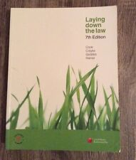 Laying Down the Law 7th Edition
