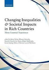 Changing Inequalities and Societal Impacts in Rich Countries: Thirty Countries'