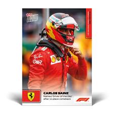 15k FB No Cancel Carlos Sainz Ferrari 2021 Topps Now Formula 1 F1 Card #63