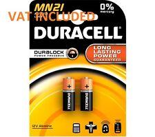 2 X Duracell MN21 A23 12V BATTERIA 23A LRV08 K23A E23A