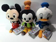Funko Kingdom Hearts Plush: Mickey -Goofy- Donald. Complete set New w/Tags