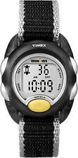 Timex T7B981, Ironkids Black Nylon Digital Watch, Indiglo, Timer, T7B9819J