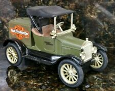 Rare Harley Davidson 1918 Runabout Model T Ford 1st Bank In The H-D Bank Series