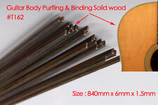 50pcs Guitar Strip Purfling Binding Guitar Parts Body Wood Inlay 840x6x1.5mm