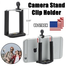 Camera Stand Clip Bracket Mount Holder Monopod Adapter for iPhone/ Samsung Phone
