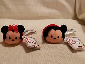 Disney Tsum Tsum  Mickey and Minnie Mouse 2 1/2 inch  Round 1