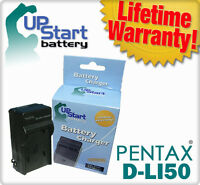 Battery Charger for Pentax D-LI50 K10D K20D SLR