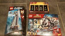 LEGO Marvel - 5005256 Bricktober & 40334 Iron Man Tower & 76109 Quantum Realm