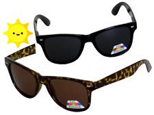 2X Designer Wayfare sunglasses Brown Black / Polarized lenses