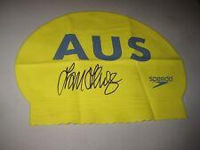Michael Klim (Australia) signed Klim Swim Cap + Photo proof