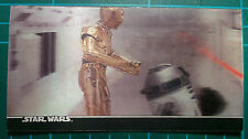 "Star Wars Topps 1996 3Di Widevision Card #3 ""Droids in crossfire"""