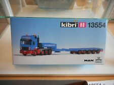 Kibri MAN Truck Schmidbauer KG + Trailer Goldhofer on 1:87 in Box (13554)