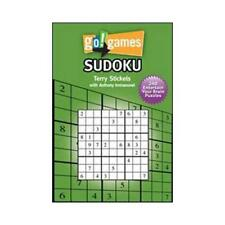Go Games! Sudoko by Terry H Stickels, Tony Immanuvel