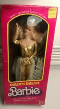 Barbie Golden dream 1980 con scatola made in Philippines