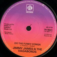 "JIMMY JAMES AND THE VAGABONDS do the funky conga/no other woman 1976 7"" WS EX-/"