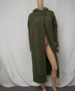 Nicholas K Women's US XS Andes Chenille Sweater Green