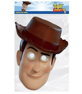 Woody from Toy Story 4 Official Single 2D Card Party Face Mask Dress Up