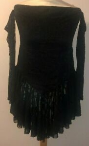 Ladies BooHoo Lace Off The Shoulder Dress. Size 14.Brand New With Tags. FREE P+P
