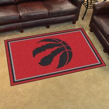 Toronto Raptors 4 X 6 Decorative Ultra Plush Carpet Area Rug
