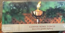 Copper Bowl Tiki Torch by Home Trends 3 torches are available