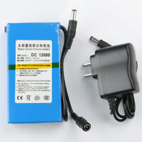 Super Power DC 12V Portable 6800mAh Li-ion Rechargeable Battery Pack Tool
