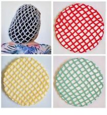 VINTAGE STYLE 1940's SNOODS 13 COLOURS AVAILABLE - HAND CROCHETED