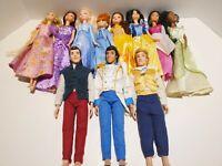 Disney Princess Dolls Lot 11 Prince