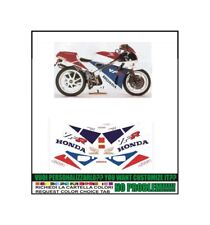kit adesivi stickers compatibili vfr  400 r 1990 nc30