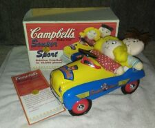 VINTAGE Campbell's Soup Peddle Car w/ Campbell's Kids--VERY RARE!!!