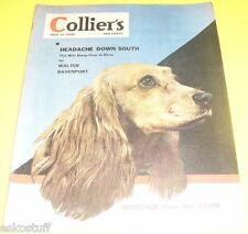 Colliers Magazine – 1946 Long-Eared Dog - Robert Gescheider Great Picture! See