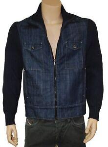 pull gilet  veste jeans homme MEXX taille XL