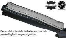 Nero e grigio in pelle e del freno di emergenza MANIGLIA cover si adatta Camaro Firebird 93-02