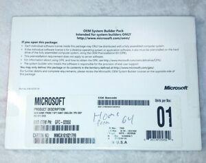 Genuine Microsoft Windows 7 Home Premium SP1 64bit OEM System Builder Pack DVD 1