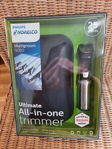 Philips Norelco Multigroom Series 9000 Beard Trimmer and Body Groomer, MG7770/49