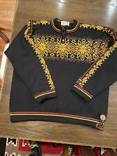 Dale Of Norway Windstopper EUC L Great Pattern No Issues