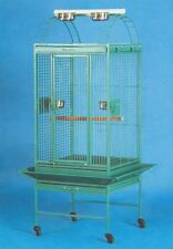 New Lahaina Lanai Open Playtop Bird Parrot Cage with Seed Guard Rolling Stand469