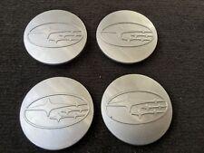 Wheel Hub Center Hub Caps 4 Pcs Set 06-15 Subaru Forester Legacy Tribeca Impreza