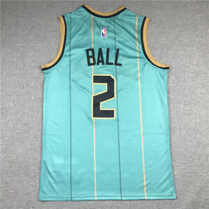 Retro Mesh Sport Chaleco Top sin Mangas T-Shirt Edition Hornets # 2 New Baloncesto Draft Swingman Jersey ZHOUQI Hornets Lamelo Jersey