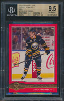 2015-16 O-Pee-Chee Glossy Red Jack Eichel Rookie Card Graded BGS 9.5-9-9.5-9.5